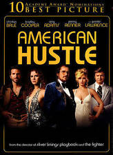 American Hustle (DVD, 2014, Includes Digital Copy; UltraViolet) free shipping