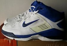 NEW Nike Air Force Brigade Men's  Basketball Shoes , White/Blue , size 13