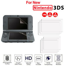 Premium HD Clear Screen Protector Guard Film for New Nintendo 3DS XL /LL 2017
