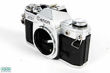 Canon AT1 Chrome 35mm Camera Body **AS/IS**