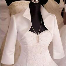 Satin jacket / Wedding Bridal dress/ Bolero/shrug coat S M L XL XXL XXXL