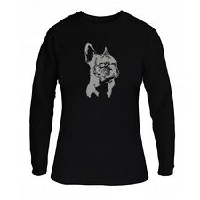French Bulldog FACE SPECIAL GRAPHIC Women Long Sleeve T-Shirt