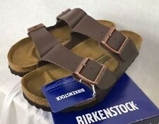 NEW BIRKENSTOCK ARIZONA SANDAL 51701 DARK BROWN WOMENS SHOES 37-42 FAST SHIP