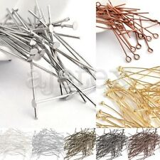 Eye Pins/Head Pins/Ball Pins Jewelry Making Findings Needles All Sizes Lots