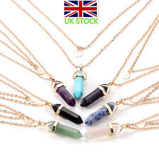 Fashion Women Jewelry Crystal Opals Pendants Crystal Multi-layer Necklace In UK