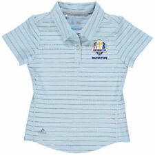 adidas Youth 2016 Ryder Cup Cotton Hand Stripe climacool Polo - Golf