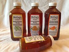 McCoy South Florida Saw Palmetto All Natural 100% Pure Raw Unfiltered Honey