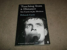TOUCHING FROM A DISTANCE - IAN CURTIS & JOY DIVISION - PAPERBACK BOOK