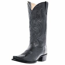 Dan Post Western Boots Mens Bexar Cowboy Black Saddle Brand DP2295