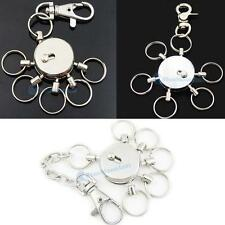Swivel Multi Removeable removable Detatchable Keychain Keyring Clips 3 Style