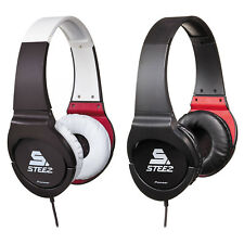 Pioneer MJ721I Steez Effects On-Ear Stereo Headphones w/ in-line Mic and Remote