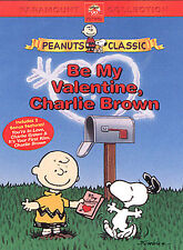 Peanuts BE MY VALENTINE, CHARLIE BROWN DVD Animated Classic