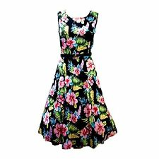 Fashion Womens 50s 60s Vintage Floral Rockabilly Housewife Swing Prom Tea Dress