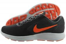 NEW MENS NIKE REVOLUTION 3 GRAY BLACK ORANGE SHOES SNEAKERS SIZE 11 13 10 10.5