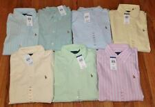 NEW Polo Ralph Lauren Womens Long Slv Button Down Oxford Dress Shirt Custom Fit