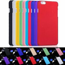 Ultra Thin PC Hard Color Slim Cover Protective Case For iPhone 4 5 5C 6S 7 Plus