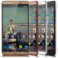 "New Unlocked 6"" Cell Phone Android 5.1 Quad Core Dual SIM 3G GPS WIFI Smartphone"