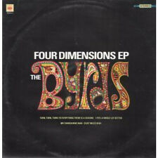 "BYRDS Four Dimensions EP 12"" VINYL UK Cbs 1990 4 Track EP Featuring Turn Turn"