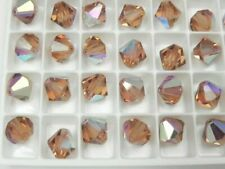 Swarovski 5301 - 8MM Various Colors and Effects - Bicone Beads (6 pieces)