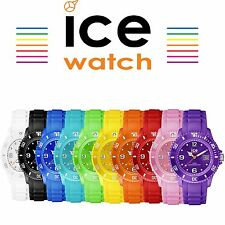ICE forever Unisex Model Silicone Analogue 100m Water Resistant Colour Watch