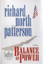 Balance of Power  by Richard North Patterson hardcover dj large print
