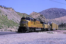 RR SLIDE UNION PACIFIC UP ACTION EMD SD70M LOCOMOTIVE #4403