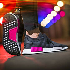 ADIDAS NMD W R1 PRIMEKNIT PINK WOMENS RUNNER SHOES SIZE 6-10 BB2363 BOOST ULTRA
