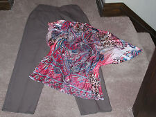 LIZ BAKER PANTS SIZE 12   & NWT APPROPRIATED BEHAVIOR TOP SIZE LARGE  12-14