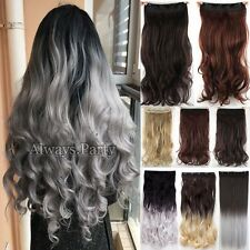 Popular Long curl/curly/wavy Hair Extension Clip In on Hair Extensions Human Lnk