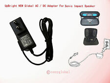 Global NEW AC Adapter For Sonic Impact Portable iPod Speaker System Power Supply