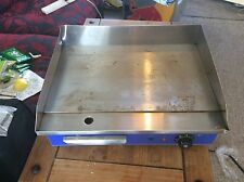 Commercial Electric Griddle Hotplate BBQ Grill Stainless Steel 50cm 1/2price