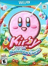 Wii U KIRBY AND THE RAINBOW CURSE - BRAND NEW & FACTORY SEALED - FREE SHIPPING