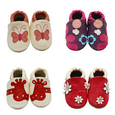 Sayoyo Baby Girl Soft Sole Genuine Leather Toddler Infant Shoes Crib Moccasins