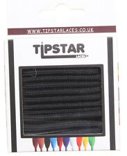 Tipstar Laces Round Laces Unisex Other Fabric Laces - Black