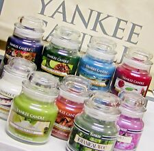 Yankee Candle 3.7 oz SMALL JAR CANDLES Retired Black Band New VARIETY 71 CHOICES