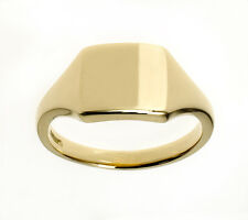 Gold Signet Ring Men's Signet Ring Gents Ring Handmade Jewellery Quarter B'ham
