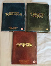 Lord of the Rings - Special Extended Trilogy Editions  DVD