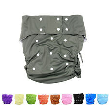 10 Colors Waterproof Teen Adult Cloth Diaper Nappy Pants for Bedwetting LAUS