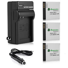 NB-4L Battery Charger For Canon PowerShot ELPH 100 300 HS IXUS 130 IS 115 220