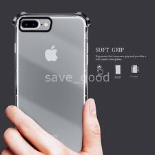 New For iPhone 7 Case Transparent Crystal Clear Case Gel TPU Soft Cover Skin