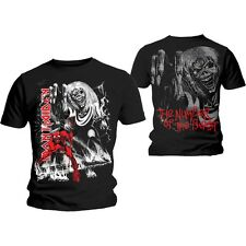 Iron Maiden T Shirt Number of The Beast Jumbo Official All Sizes Black NOTB New