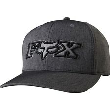 FOX RACING HEATHER BLACK KINCAYDE FLEXFIT FLEX FIT CAP HAT LID MENS ADULT GUYS