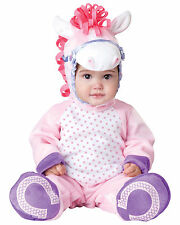 Pretty Lil' Pony Pink Animal Deluxe Toddler Baby Girls Infant Costume
