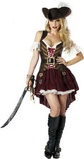 Sexy Swashbuckler Pirate Halloween Dress Women Costume