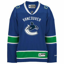 Vancouver Canucks Reebok Women's Premier Home Jersey - Blue - NHL