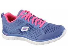 Skechers Memory Foam Flex Appeal Obvious Choice Womens Running Shoes Trainers