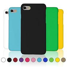 Hardcase Apple iPhone 7 rubberized  Cover + protective foils