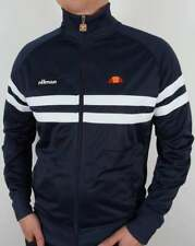 Ellesse Rimini Track Top in Navy & White *exclusive* 80s casual classic Firm