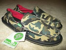 NWT Sanuk WOMENS Shoes/SANDALS Camouflage DONNA SIDEWALK SURFER SIZES: 5, 6 & 8