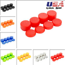 8PCS Silicone Analog Stick Rised Rear Thumb Grips Cap for PS4 Xbox Controller